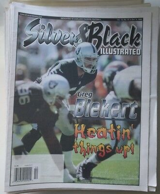 NFL – Oakland Raiders – Silver & Black Illustrated – 1997-1999 – Newspapers
