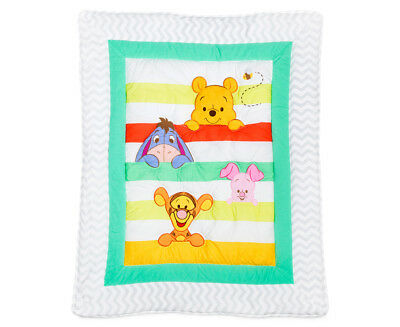 Disney Baby Cot A Is For Apple Quilt - Multi