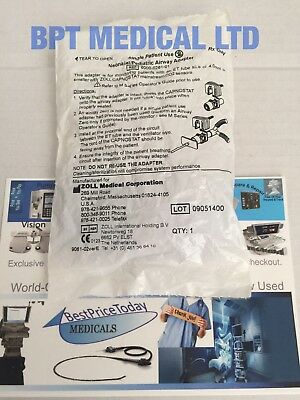 ZOLL Neonatal Pediatric Airway Adapter Single Use for capnostat CO2 sensor