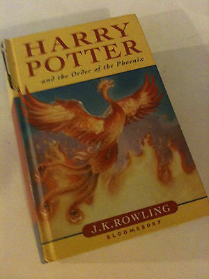 'HARRY POTTER & THE ORDER OF THE PHOENIX' J. K. Rowling 2003 1st Edition HB Book