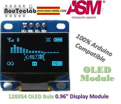 OLED 128X64 Display OLED LCD LED Display Module For Arduino I2C IIC SPI Serial