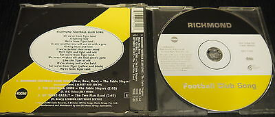 AFL – Richmond Tigers – Club/Theme Song – CD Single – Up There Cazaly