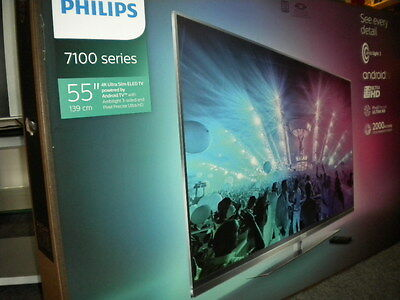 Philips 55PUS7181 Ambilight3 PPI 2000  4K UHD TV Smart TV  NEU u. OVP