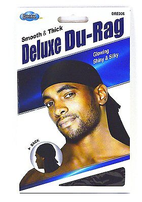 Dream Deluxe Du-Rag - Smooth & Thick, Superior Quality, Stretchable, Wrinkle