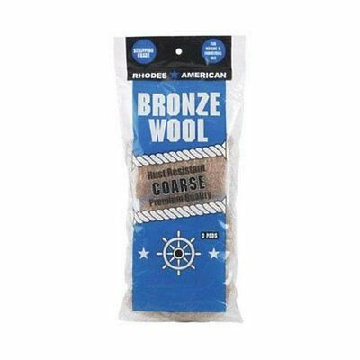 Homax 123102 Coarse Bronze Steel Wool Pads, 3 Pack