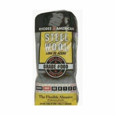 Homax 106601-06 Steel Wool Pads Poly Bag 12 Pads / Package