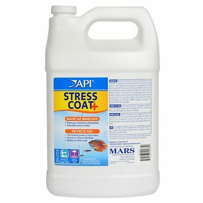 API Stress Coat 3.8L Aquarium Fish Tank Tap Water Safe Bulk Bottle