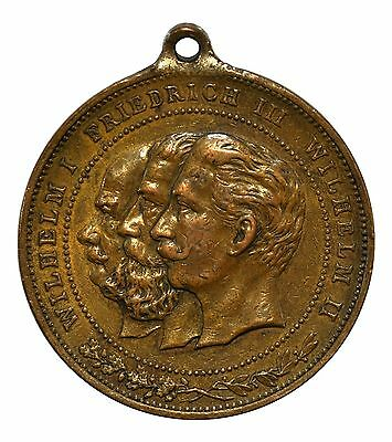 Prussia 1888 Year of the Three Emperors Medal