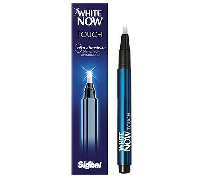 Signal stylo blancheur pour les dents White Now Touch Zero abrasive