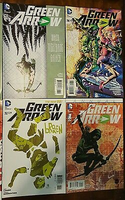 26x Green Arrow & Green Arrow Rebirth