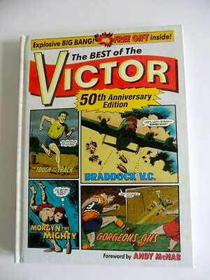 Rare Hb Uk Comic Book - The Best Of The Victor 50Th Anniversary Edition - 2010