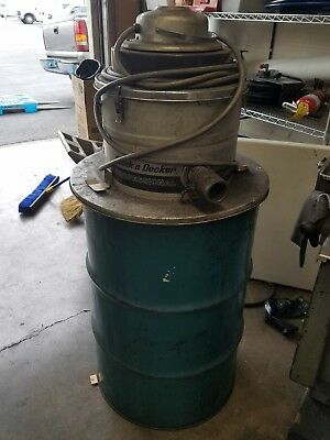 black & Decker  55 GALLON BARREL DRUM VACUUM