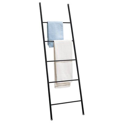 ikea towel ladder with storage basket picclick uk. Black Bedroom Furniture Sets. Home Design Ideas