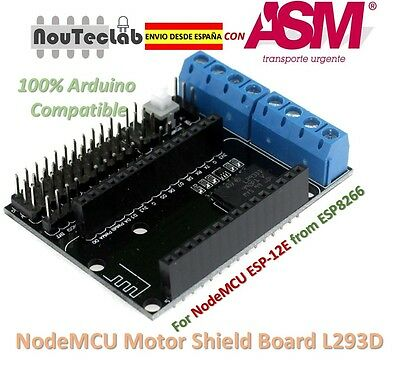 NodeMCU Motor Shield Board L293D for ESP-12E from ESP8266 ESP12E