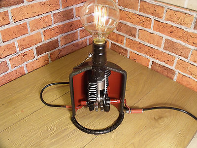 ENGINE, sectioned engine desk lamp, engineers / mechanics lamp, chainsaw Engine,