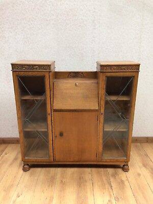 Vintage Display Cabinet Bureau