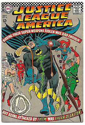 Justice League of America #53 F/VF 7.0 NICE! Wonder Woman .99 CENT SALE!