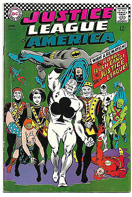Justice League of America #54 F/VF 7.0 NICE! Wonder Woman .99 CENT SALE!