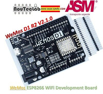 WeMos D1 R2 V2.1.0 NodeMCU WiFi ESP8266 Development Board