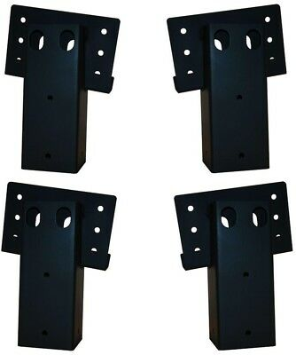 Elevators 4 in x 4 in Double Angle Brackets 4 Set Platforms Deer Stands Sturdy