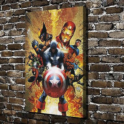 Marvel's The Avengers Painting HD Print on Canvas Home Decor Wall Art Pictures