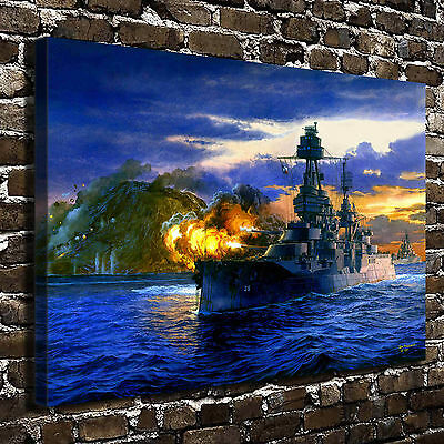 Scenery Sea Sailing Painting HD Print on Canvas Home Decor Wall Art Pictures