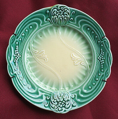 Antique Art Nouveau ceramic plate Villeroy & Boch