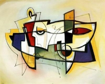 Handpainted Oil Painting On Canvas Modern Abstract Art for home decor - A115