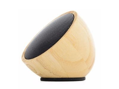 Bamboo Speaker - Wood Bluetooth 3.0 Wireless Portable Speaker by Carved