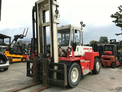 10 sve ton forklift with sideshift spreader in mint order finance hire  lease