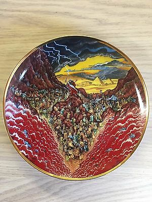 PARTING OF THE SEA - Franklin Mint Religious Collector Plate by Bill Bell #x1174