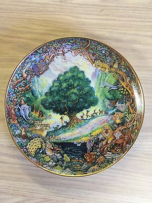 Bill Bell Paradise L.E. Collector Plate from Franklin Mint #x4566