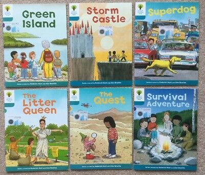 Oxford Reading Tree Stage 9 Books Set Of 6 Very Good Condition