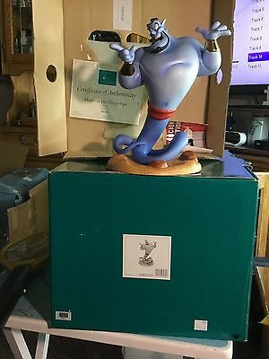 "WDCC Disney ""Magic at his Fingertips "" Genie from Aladdin LE 245/1500"