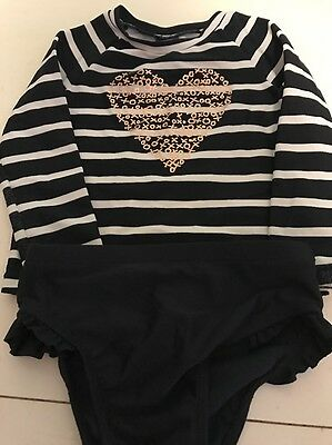Baby Gap 18-24 Months Rash Guard Swim Suit