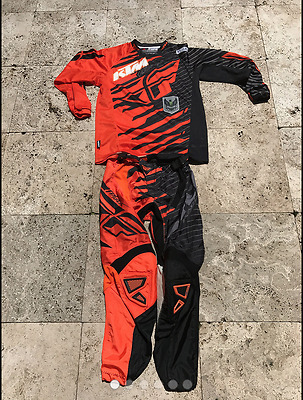 Fly Racing MX Motocross Pant/Jersey Combo Dirtbike Downhill MTB KTM CRF YZ CRF