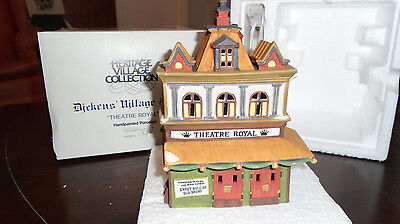 Department 56 Dickens Village Theater Royal
