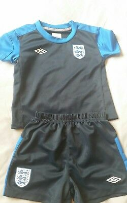 England foitball kit age 12 -18 months