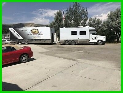 1995 Freightliner Motorhome Toterhome Truck Conversion RV, 36-ft, Sleeps, Racing