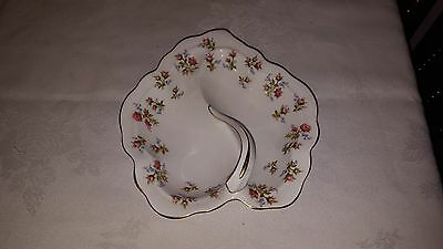 Royal Albert Winsome Leaf Shaped Candy Pickle Dish