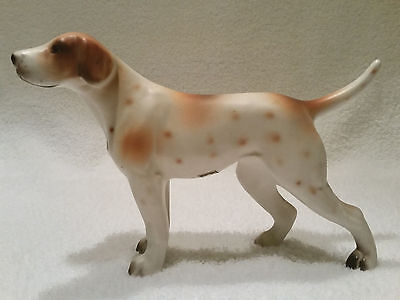 Inarco Made in Japan Pointer Dog******Pristine Condition Porcelain*****A Beauty