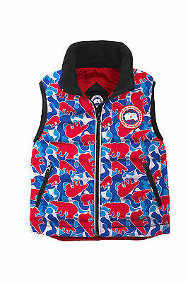 Canada Goose Bobcat Kids' Vest Size 6-7 100% Authentic with tags Made in Canada