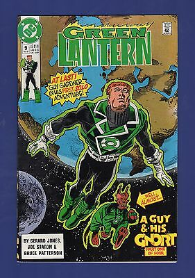 Green Lantern #9 1990 DC Comics Guy Gardner A Guy and His G'Nort Part 1 of 4