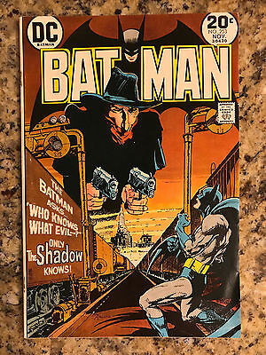 Batman #253 Fn/vf 7.0 Dc Comic / Shadow Appearance / White Pages