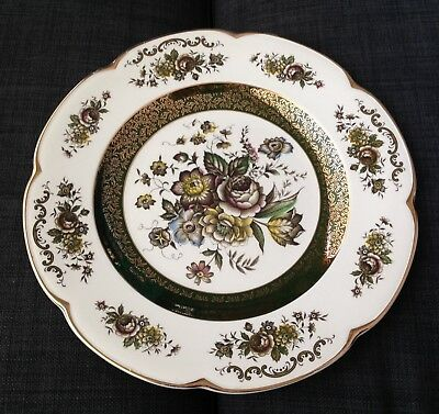 Ascot Service Plate by Wood and Sons ENGLAND Alpine White Ironstone