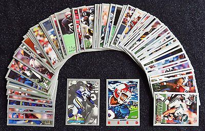 79 x 1993 NFL GRIDIRON FOOTBALL Trading Cards Fleer ALL DIFFERENT EXCELLENT COND