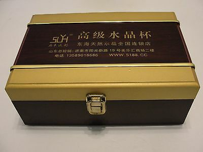 SS Thermos-Type Tea Mug w/Infuser In Oriental Laquered Box, China