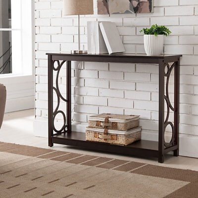 Corrine Wood Console Table Andover Mills Free Shipping High Quality