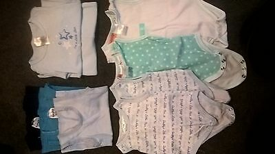Baby Boy clothes - Size 0000 (16 items)