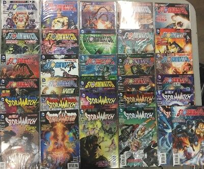 Complete Set Of Stormwatch Comic Books 0, 1-30 DC comics New 52